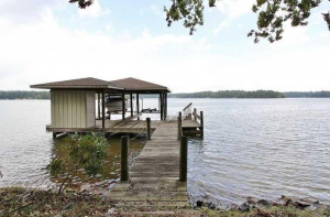 Double Slip Boat House and Easy Lake Access