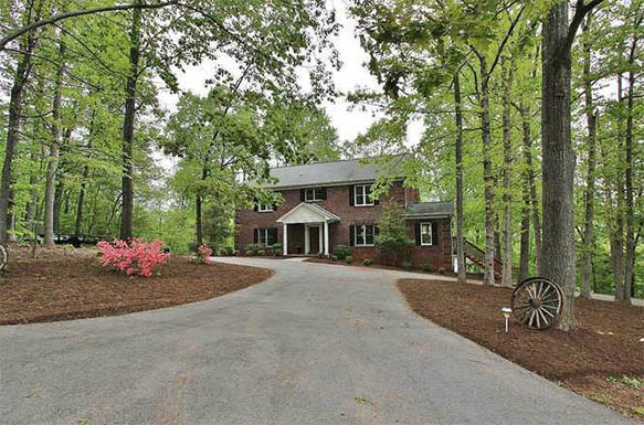 Rural Lakefront Home at 481 Backwoods Lane Union Hall, VA 24176