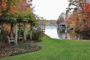 Cove and dock at 2396 Lakewood Forest Road Moneta, VA 24121