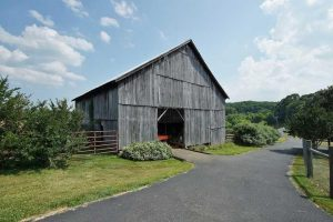 Restored barn at 1812 Diamond Hill - For Sale at Smith Mountain Lake