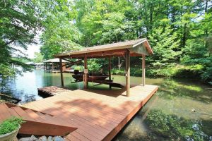 Private cove at 106 Starboard Lane-For Sale at Smith Mountain Lake