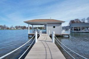 Private dock at 2790 Waters Edge - For Sale at Smith Mountain Lake