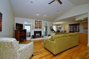 Open Great Room in 50 Queen Mother's Court -For Sale at Smith Mountain Lake