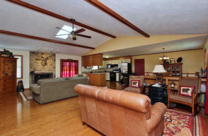 Open Living Area at 100 Holly Court-For Sale Smith Mountain Lake